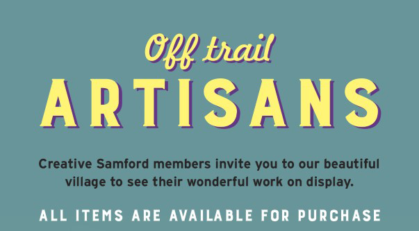 Off Trail Artisans Event coming up