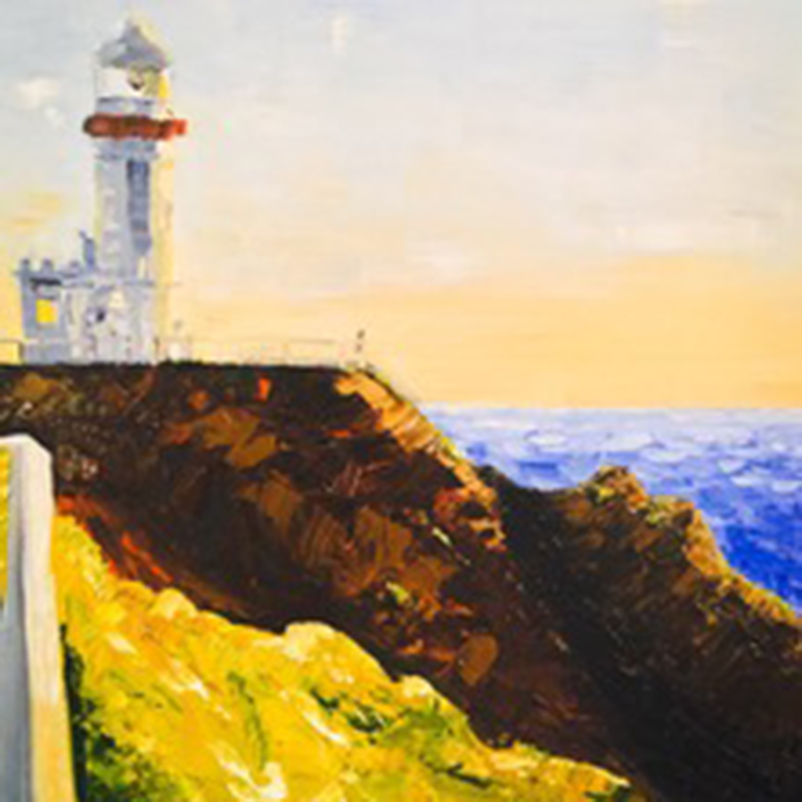 Morning Light 2c Byron Lighthouse