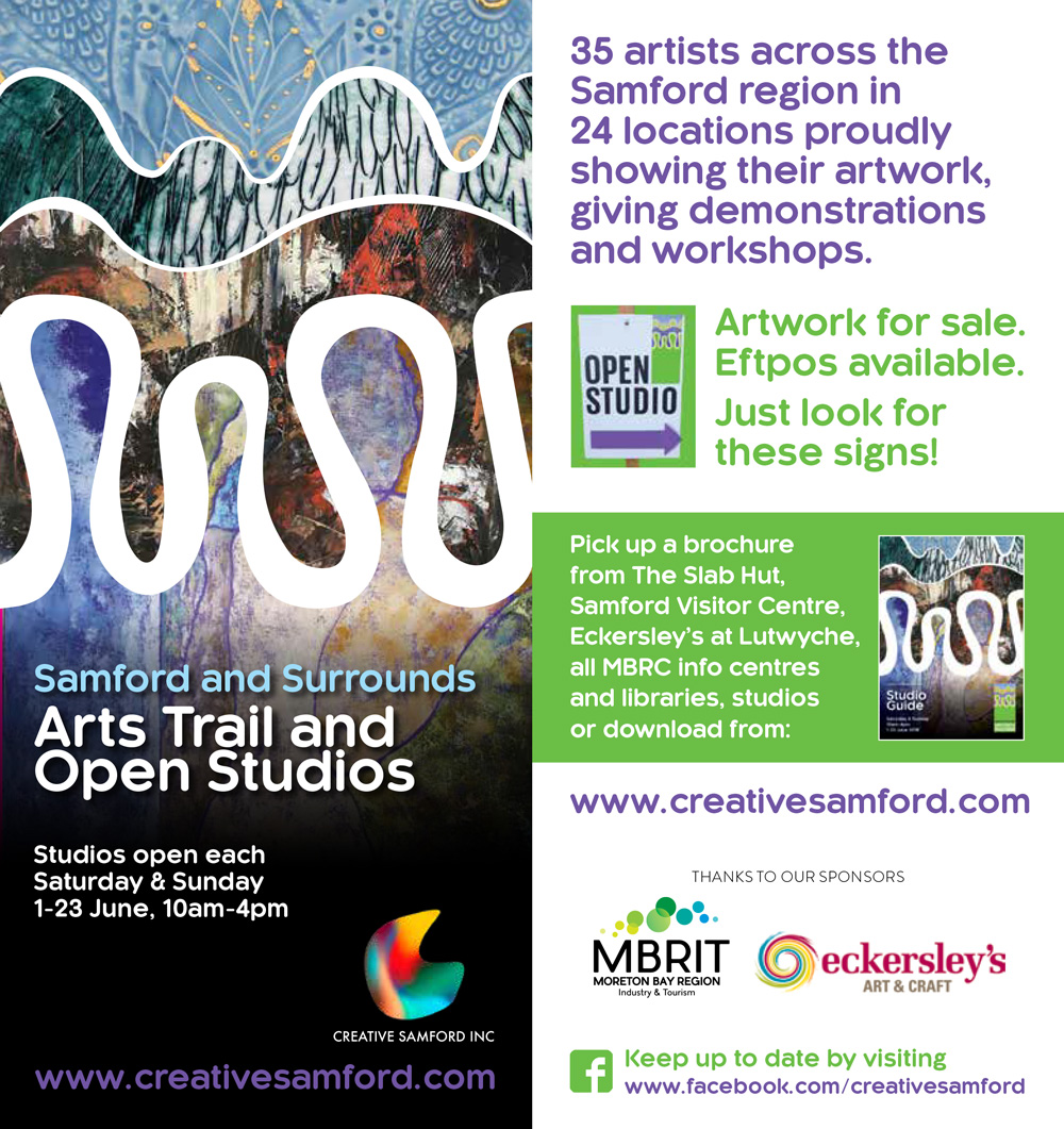 Announcing the 2019 Arts Trail Workshops