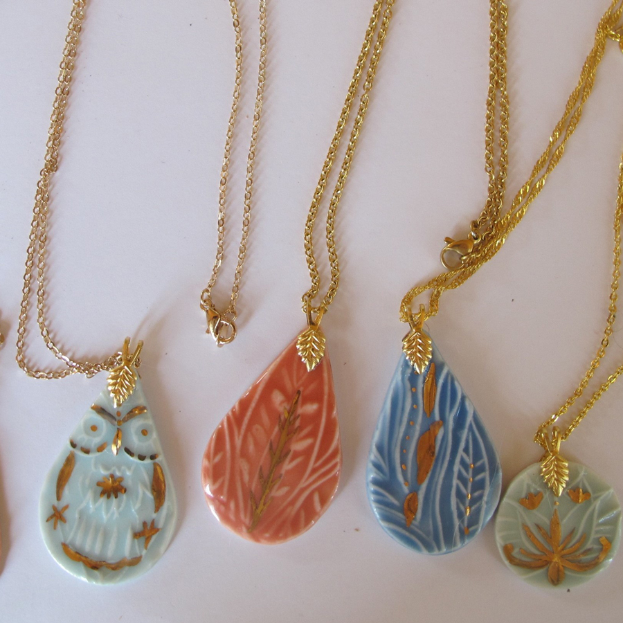 Ceramic pendants No 5