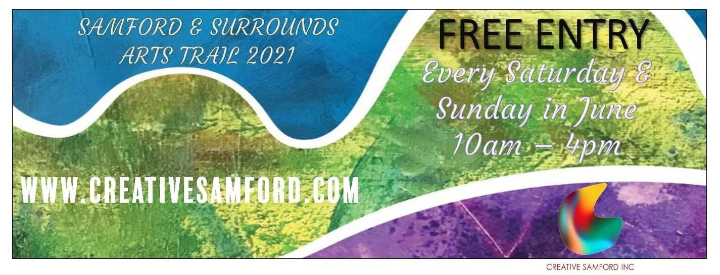 Samford and Surrounds Arts Trail Event