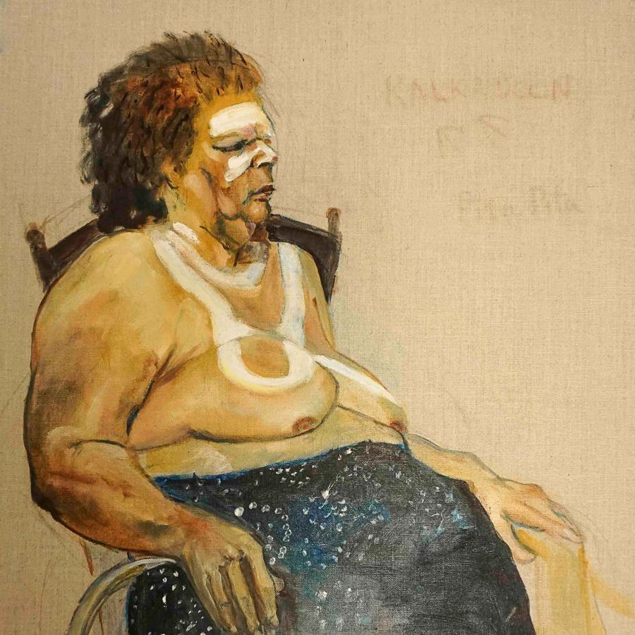Kalkadoon woman